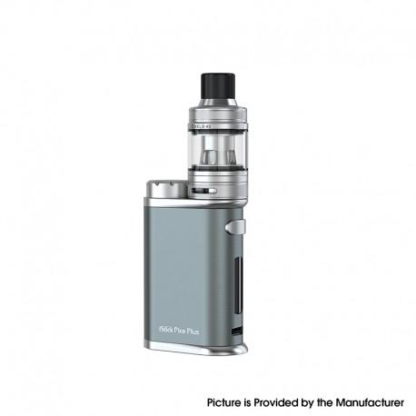 Authentic Eleaf iStick Pico Plus Vape Kit 75W VW Box Mod + Melo 4S Sub Ohm Tank - Grey, 1~75W, 1 x 18650, 4.0ml, 25mm Diameter