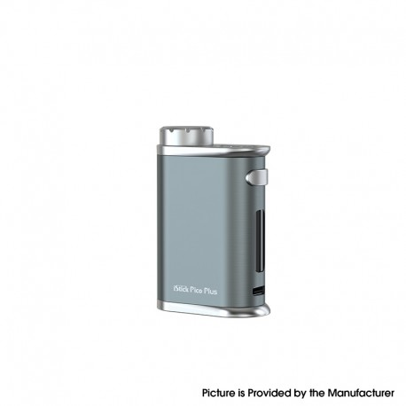 Authentic Eleaf iStick Pico Plus 75W VW Variable Wattage Vape Box Mod - Grey, 1~75W, TC 100~315'C, 1 x 18650