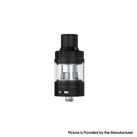 Authentic Eleaf Melo 4S Sub Ohm Tank Clearomizer Vape Atomizer - Black, 4.0ml, 0.3ohm / 0.5ohm, 25mm Diameter