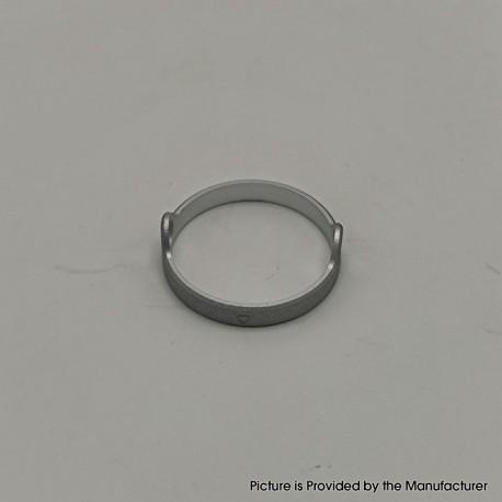 Authentic Auguse Era Pro RTA Replacement Decorative Ring - Silver, Anodized Aluminum, 22mm Diameter (1 PC)