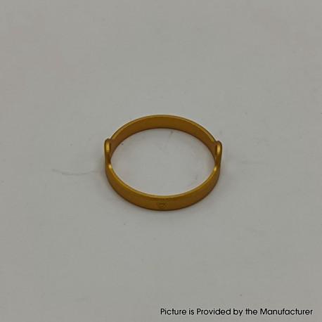 Authentic Auguse Era Pro RTA Replacement Decorative Ring - Gold, Anodized Aluminum, 22mm Diameter (1 PC)