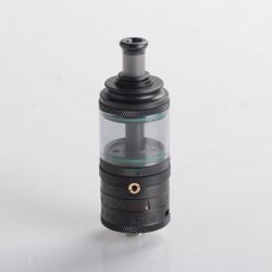 Authentic Auguse Era Pro RTA Rebuildable Tank Vape Atomizer w/ Air Pin - Black, 4.0ml, 0.8 / 1.0 / 1.2mm, 22mm Diameter