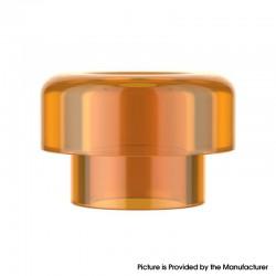 Authentic Reewape RS332 810 Drip Tip for RBA / RTA / RDA Atomizer - Orange, Acrylic (1 PC)