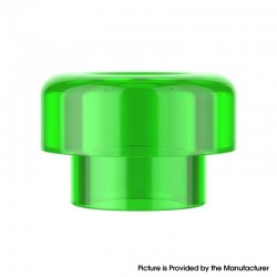 Authentic Reewape RS332 810 Drip Tip for RBA / RTA / RDA Atomizer - Green, Acrylic (1 PC)