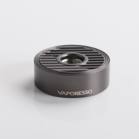 Authentic Vaporesso Swag PX80 Pod Mod Kit Replacement 510 Adapter - Black, Stainless Steel (1 PC)
