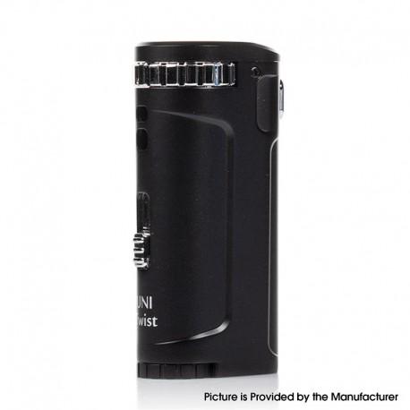 Authentic Yocan UNI Twist Vaporizer Box Mod - Black, 650mAh Compatible with 12mm Atomizer