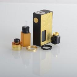Authentic Vandy Vape Requiem BF Mechanical Vape Box Mod Kit - Craftsman (Brass), 1 x 18650, 6.0ml, 2.6ohm