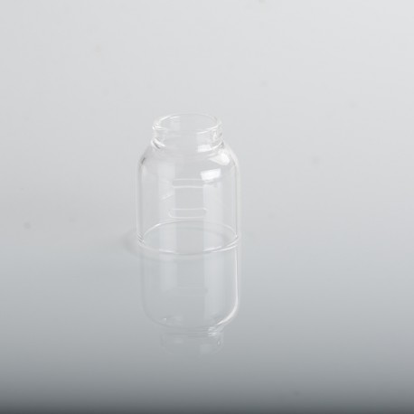 Authentic ThunderHead Creations THC Tauren Solo RDA Replacement Glass Shell - Transparent (1 PC)