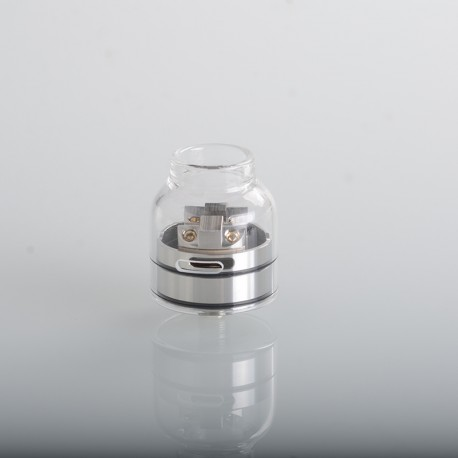 Authentic ThunderHead Creations THC Tauren Solo RDA Rebuildable Dripping Atomizer w/ BF Pin - Glass, 2.0ml, 24mm Diameter