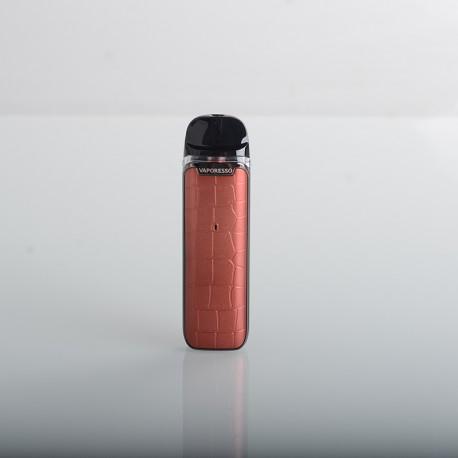 Authentic Vaporesso Luxe Q Pod System Vape Kit - Brown, 1000mAh, 2.0ml Pod, 0.8ohm / 1.2ohm, SSS Leak Resistance Technology