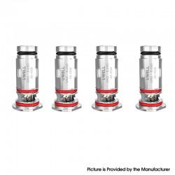 Original Uwell Havok V1 Pod System / Cartridge Replacement UN2 DTL Coil Heads - 0.25ohm (40~45W) (4 PCS)