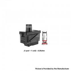 Original Uwell Havok V1 Pod System Replacement Pod Cartridge + UN2 DTL Coil Heads - 4.0ml, 0.25ohm (40~45W) (4 PC)