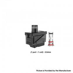 Authentic Uwell Havok V1 Pod System Replacement Pod Cartridge + UN2 MTL / RDL Coil Heads - 4.0ml, 0.6ohm (20~25W) (1 PC)