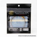 Authentic ThunderHead Creations THC Ni80 4 Core Fused Clapton Wire - 0.3 x 4 + 0.1, 5 feet / Roll