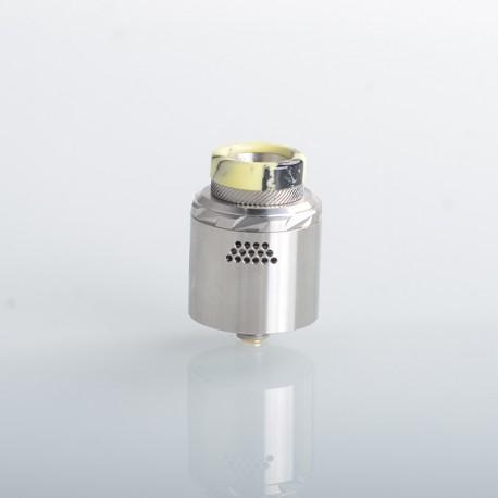 Authentic Vandy Vape Rath RDA Rebuildable Dripping Vape Atomizer - SS, Single / Dual Coil Configuration, 0.33ohm, 24mm Diameter