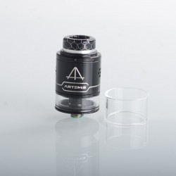 Authentic ThunderHead Creations THC Artemis V1.5 RDTA Rebuildable Dripping Tank Atomizer - Silver Black, 2.0/4.0ml, 24mm, BF Pin