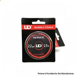 Authentic YouDe UD Kanthal A1 Resistance Wire for RBA / RTA / RDA Vape Atomizer - 22GA / 0.65mm, 15FT (5m)
