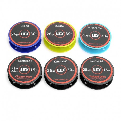 Authentic Youde UD Heating Wire for RBA / RTA / RDA - (6 PCS)
