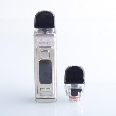 Authentic SMOKTech SMOK RPM 4 60W Pod System Vape Starter Kit - Pale Champagne, 5~60W, 1650mAh, 5.0ml Pod Cartridge, 0.23ohm