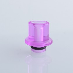 Authentic Reewape RS333 510 Drip Tip for RBA / RTA / RDA Atomizer - Translucent Pink, Acrylic (1 PC)