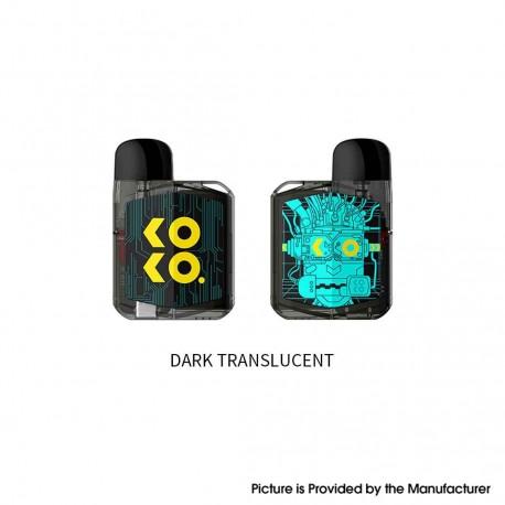 Authentic Uwell Koko Prime (Vision) 18W Pod System Vape Kit - Dark Translucent, 690mAh, 2.0ml, 1.0 / 0.8ohm
