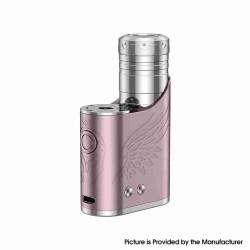 Authentic Vapefly Brunhilde SBS 100W Side by Side Vape Box Mod - Rose Pink, VW 5~100W, 1 x 18650 / 20700 / 21700