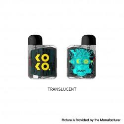 Authentic Uwell Koko Prime (Vision) 18W Pod System Vape Kit - Translucent, 690mAh, 2.0ml, 1.0 / 0.8ohm
