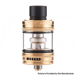Authentic Wotofo nexMINI Sub Ohm Tank Atomizer - Gold, 3.5ml / 4.5ml, 22mm Diameter
