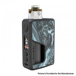 Authentic Vandy Vape PR SE Squonk Mod Kit with Requiem RDA Atomizer - Glacial Silver, VW 5~95W, 1 x 16850, 20700, 21700