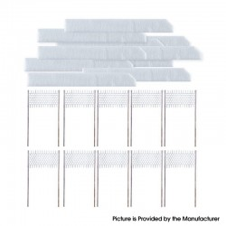 Authentic Vapefly Kriemhild II RMC Coil Replacement Wire + Cotton Kit - Duplex 0.2ohm (10 PCS)