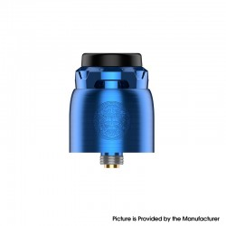 Authentic GeekVape Z RDA Rebuildable Dripping Vape Atomizer - Blue, BF Pin, Dual-Coil, 25mm