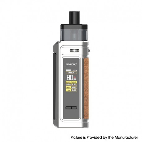 Authentic SMOKTech SMOK G-PRIV 80W Pod Mod Kit - Nano Chrome, VW 5~80W, 2500mAh, 5.5ml, 0.23ohm / 0.4ohm