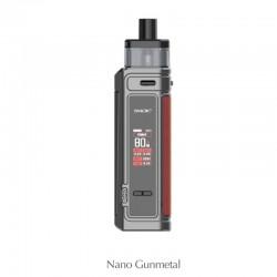 Authentic SMOKTech SMOK G-PRIV Pro 80W Pod Mod Kit - Nano Gunmetal, VW 5~80W, 1 x 18650, 5.5ml, 0.23hom / 0.4ohm