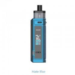 Authentic SMOKTech SMOK G-PRIV Pro 80W Pod Mod Kit - Matte Blue, VW 5~80W, 1 x 18650, 5.5ml, 0.23hom / 0.4ohm