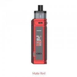 Authentic SMOKTech SMOK G-PRIV Pro 80W Pod Mod Kit - Matte Red, VW 5~80W, 1 x 18650, 5.5ml, 0.23hom / 0.4ohm