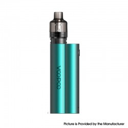 Authentic Voopoo Musket 120W Mod Kit with PnP Pod Tank Atomizer - Peacock Green, VW 5~120, 2 x 18650, 4.5ml, 0.15ohm / 0.2ohm
