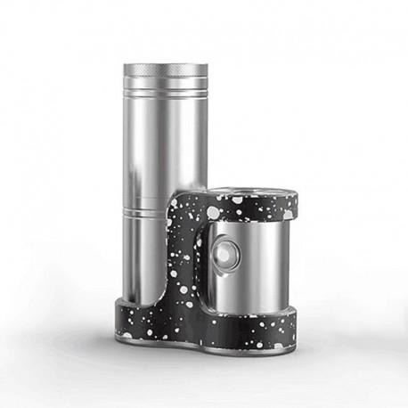 Authentic Ambition Mods Converter SBS Side-by-Side Box Mod - Black Dot, 1~50W, TC 200~600'F / 100~315'C, 1 x 18350 / 18650