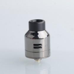 Authentic Digiflavor Drop Solo RDA V1.5 Rebuildable Dripping Vape Atomizer - Gunmetal, DL / RDL, BF Pin, 22mm Diameter