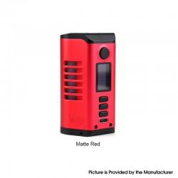 Authentic Dovpo Odin 200 200W TC VV VW Box Mod - Matte Red, Aluminum Alloy + Zinc Alloy, 5~200W, 200~600'F, 2 x 20700 / 21700