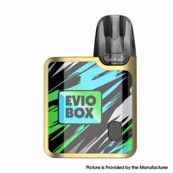 Authentic Joyetech EVIO Box Pod System Vape Kit - Golden Jungle, 1000mAh, 2.0ml, 0.8ohm / 1.2ohm, Zinc Alloy Version