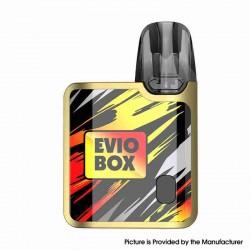 Authentic Joyetech EVIO Box Pod System Vape Kit - Golden Flame, 1000mAh, 2.0ml, 0.8ohm / 1.2ohm, Zinc Alloy Version
