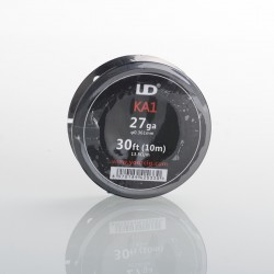 Authentic YouDe UD Kanthal A1 27 AWG Resistance Wire for RBA - 0.35mm Diameter, 10m Length