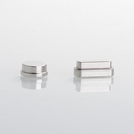 SXK Delro Style AIO Mod Kit Replacement Fire / Adjustable Button Key - Silver (2 PCS)