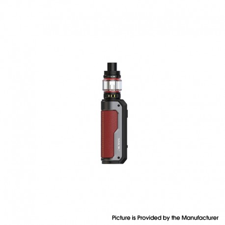 Authentic SMOKTech SMOK Fortis 80W VW Box Mod Kit with TFV18 Mini Tank - Red, VW 5~80W, 1 x 18650 / 21700, 5.5ml