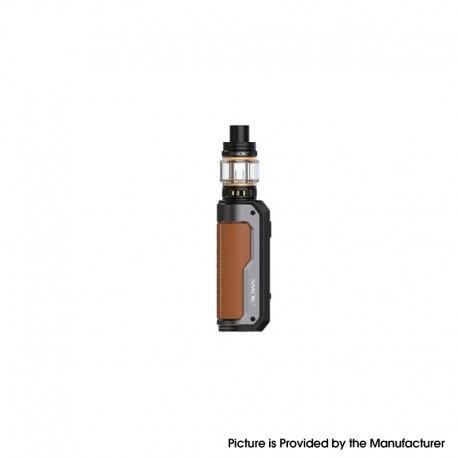 Authentic SMOKTech SMOK Fortis 80W VW Box Mod Kit with TFV18 Mini Tank - Brown, VW 5~80W, 1 x 18650 / 21700, 5.5ml