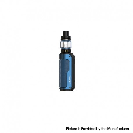 Authentic SMOKTech SMOK Fortis 80W VW Box Mod Kit with TFV18 Mini Tank - Blue, VW 5~80W, 1 x 18650 / 21700, 5.5ml