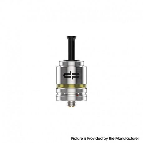 Authentic Digiflavor Siren MTL RTA V4 Rebuildable Tank Vape Atomizer - Silver, 2.0ml, 22mm Diameter