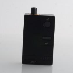SXK Delro Style 60W TC VW AIO Mod Kit - Black, 1~60W, 2200mAh, Evolv DNA 60 Chipset