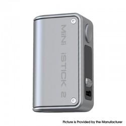 Authentic Eleaf Mini iStick 2 VW Variable Wattage Vape Box Mod - Grey, 1050mAh, VW 1~25W