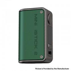 Authentic Eleaf Mini iStick 2 VW Variable Wattage Vape Box Mod - Green, 1050mAh, VW 1~25W